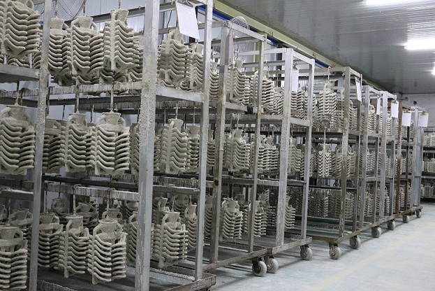 Investment Casting Dry shell in Omnidex China factory