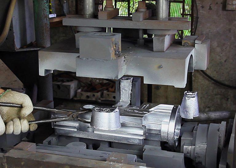 Engineering specialist fabricating aluminum gravity cast parts