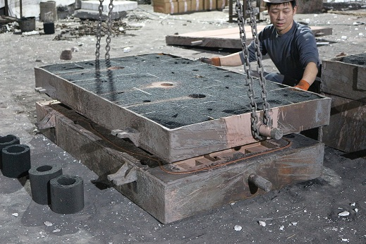 Omnidex engineering precisely assemble sand casting mold