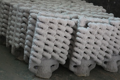 Investment casting shell in perfect condition