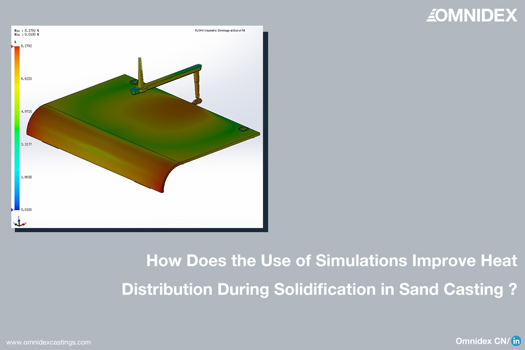 castings blogs How Does the Use of Simulations Improve Heat Distribution During Solidification in Sand Casting
