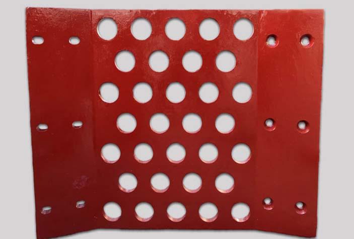 Lost Foam cast screen plate