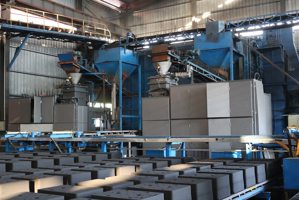 One-stop Metal Casting Services | Automatical-Sand-casting-production-line | Omnidex Castings