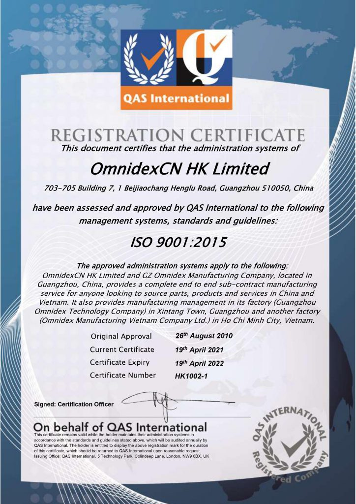 Metal Casting Services ISO 9001 | China & Vietnam Manufacturer and Supplier | industrial manufacturing company | Omnidex Castings